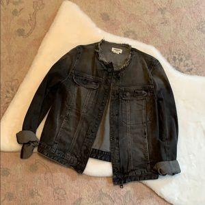 Faded Black Jean Jacket